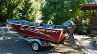 2016 Smokercraft 13' Aluminum Boat with 15 HP 4 st Olympia, 98513