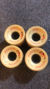 longboard wheels 62mm 40 km