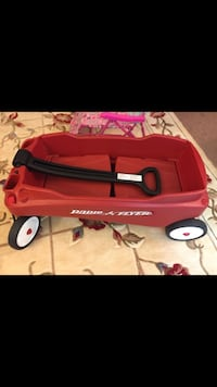 red and black Radio Flyer wagon Oakton, 22124