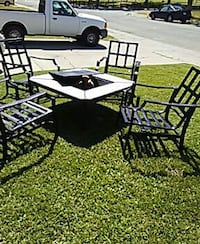 Wood fire pit patio set  North Highlands, 95660