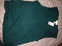 Forever 21 shirt new with tags size 3X color is like a dark teal never worn.