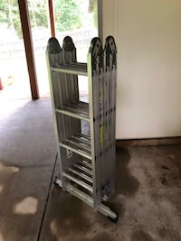 Werner M2-8-16 16 ft. Aluminum Folding Ladder - $100 Sterling