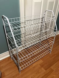 Wire Shoe Rack - need gone asap Mississauga, L5V 2P3
