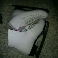 LIKE NEW: Lange classic womens figure skates SIZE US LADIES 5 (USm 3)  Edmonton, T6X 1J9