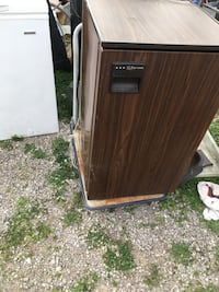 brown and black wooden cabinet Fort Wayne, 46808