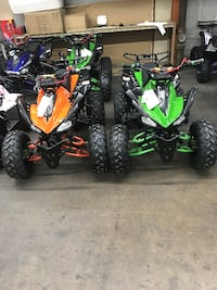 New Gas ATV Fully Automatic With Reverse 125cc With Remote - Wholesale now open to the public !(:  Chicago