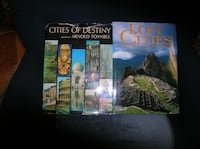 2 Very Large Books : Cities of Destiny and Lost Cities from the Ancient World Springfield
