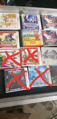 Nintendo DS & 3DS Game's Each Sold Separate
