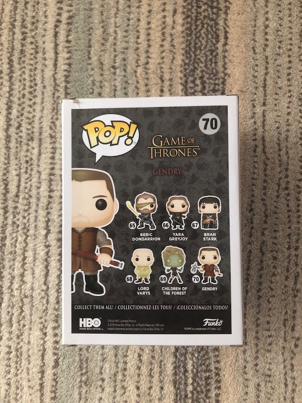 Game of Thrones Funko - Gendry e68d24fe-7d9e-4d3f-84bc-ecc37397e7db