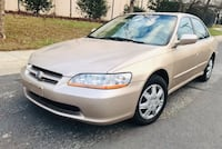 "0NLY $3300 "" 2000 Honda Accord Leather Low Miles "" No check engine light   Hyattsville"