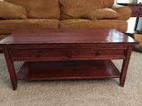 Coffee table with matching end table.  Fairfax, 22033