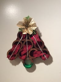 Handmade Christmas tree for interior door. 1 of a kind, never used.
