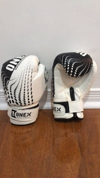 Brand New Kids Mist Boxing Gloves (White and Black) Mississauga