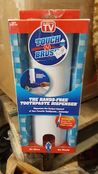 Touch N Brush the hands-free toothpaste dispenser Lancaster, 93536