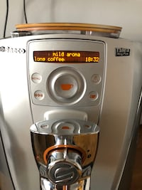 Saeco Talea Ring Plus fully automatic espresso machine Toronto, M4K 2G2