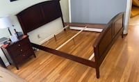 Queen sized bed frame from urban home