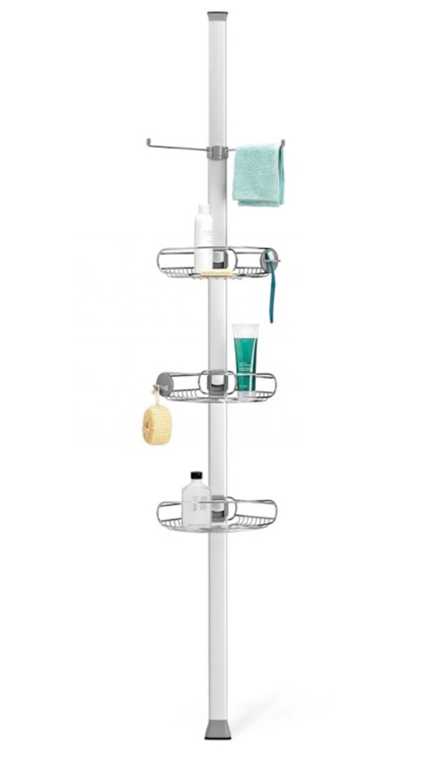 Tension shower caddy by Simplehuman