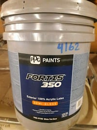 Ppg Paints white semi gloss 2344 mi