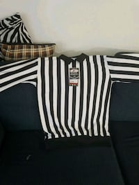 brand new hockey referee Jersey Stony Plain, T7Z 1K8