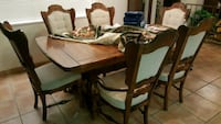 brown wooden dining table set Henderson, 89011