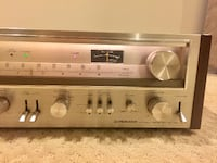 Vintage Pioneer SX-780 AM/FM Stereo Receiver Silver Spring