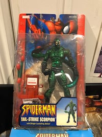 Spider-Man Classics Scorpion Metallic Variant Action Figure