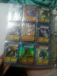 Big book of digimon playing cards plus others Seagoville, 75159