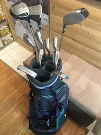 John Daly Hippo Golf clubs and bag set RH
