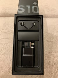 New Samsung galaxy S10+ accessories with box