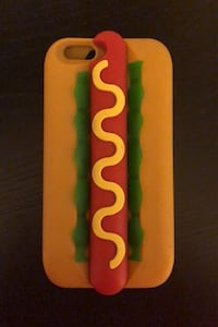 iPhone 6 PLUS hotdog silicone case