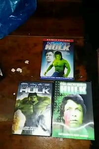 three assorted-title DVD cases Manchester, 21102