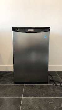 gray and black Haier compact refrigerator San Diego, 92037