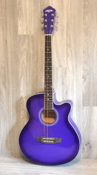 Purple acoustic guitar 40 inch full size brand new Toronto