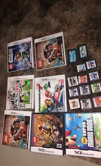 NINTENDO DS GAMES all types