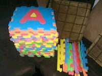Floor foam letters & numbers * 36 Ct.