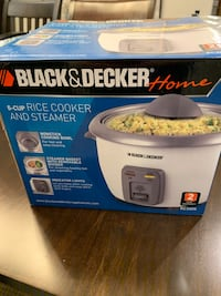 6 cup Rice Cooker and Steamer