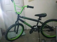 "green and black BMX bike20"" Oceanside, 92056"