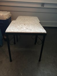Terrazzo end tables  Vancouver, 98682