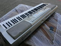 silver Casio electronic keyboard Lewisville, 75067