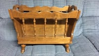 Baumritter of New York (Pre Ethan Allen Furniture Co.) Magazine Rack Whitby, L1M 1J5