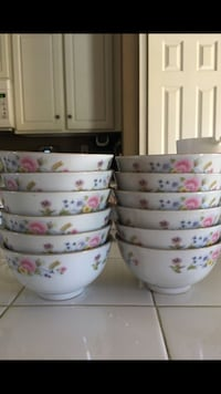 Set of 12 Chinese bowls Bakersfield, 93312