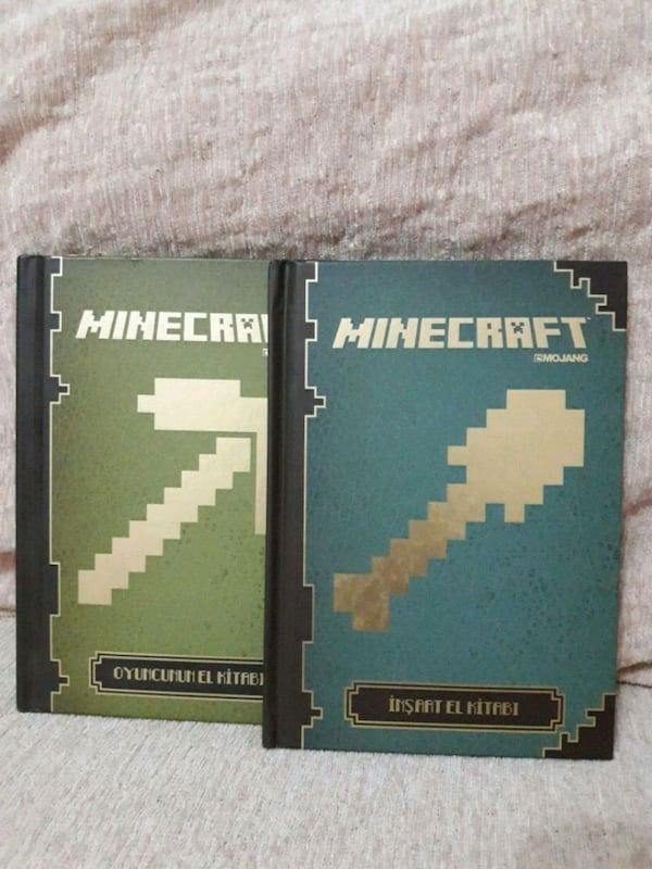MINE CRAFT kitapları (2 adet)  9dec61b9-50cb-40b1-9136-55ee0872566a