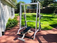 Smith Machine - Body Solid - Olympic Weights - Bench Press - Squat Rack - Power Rack - Work Out Burr Ridge