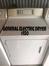 white front load clothes dryer Dallas, 75220
