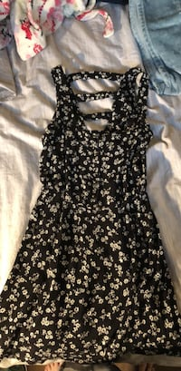black and white floral sleeveless dress Falls Church, 22041