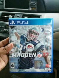 Madden 2017 PS4 mint condition Temple, 19560
