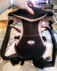 Black Infantino Baby Carrier
