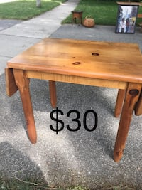 Solid wood pine table 26x49 Oakville, L6L 3M8