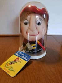 Preserved personalities collectible fireman