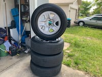 Hot Deal 4 Tundra factory wheels and tires  Palm Bay, 32907